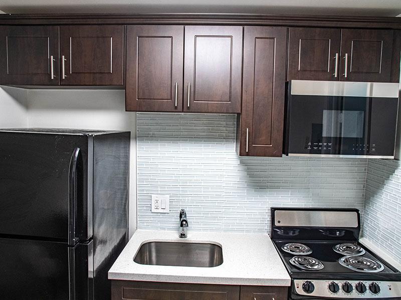 Photograph of 1 bedroom 1 bath Kitchen